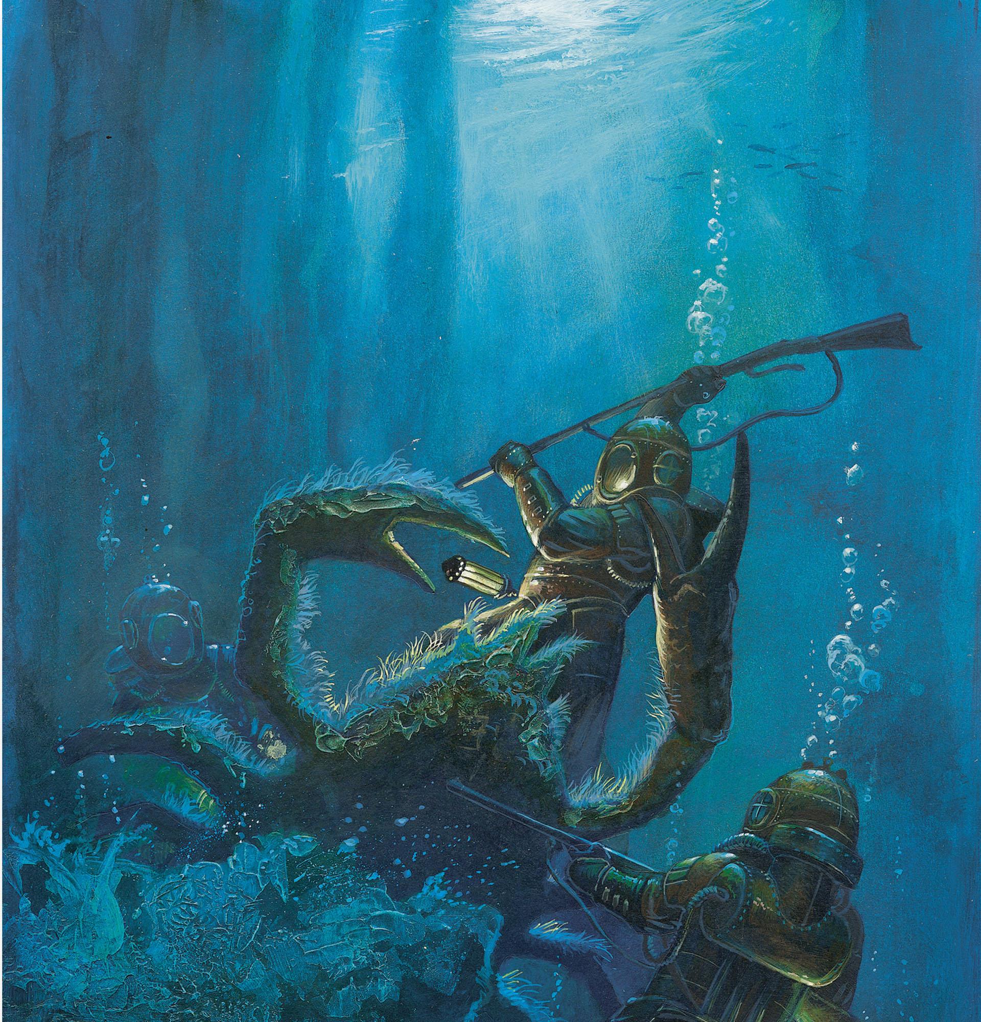 Nautilus, un somptueux visuel © Dead Crows Studio