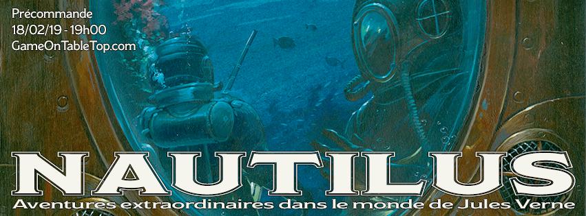 Nautilus, bandeau du financement participatif © Dead Crows Studio
