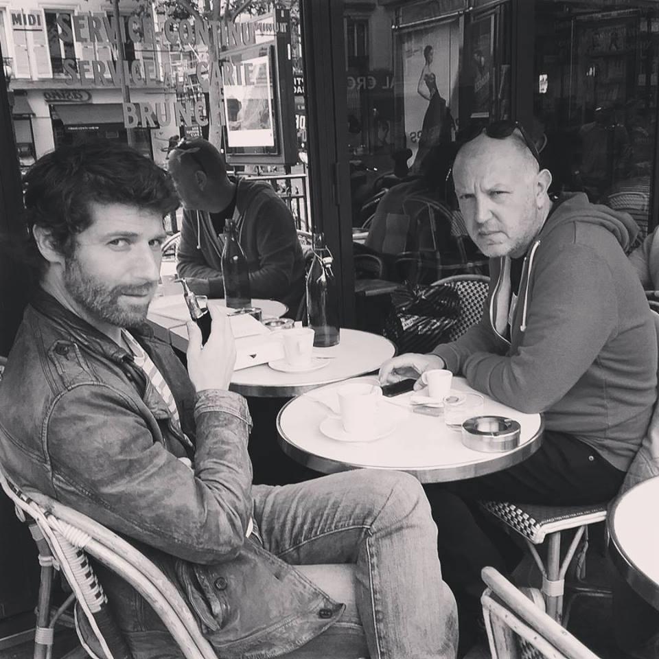 Patrice Perna et Fabien Bedouel