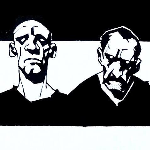 Forçat, les deux auteurs © Fabien Bedouel