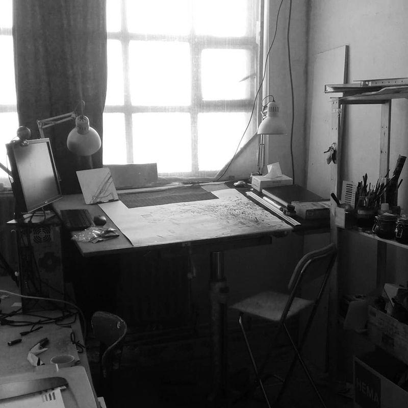 Le Passager, atelier d'artiste © Patrice Réglat-Vizzavona