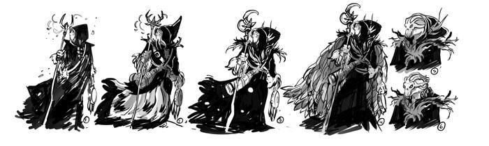 Famille Fantastique, recherche de personnages, Malgor © Drouin