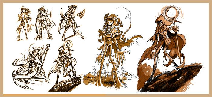 Famille Fantastique, recherche de personnages, passeur © Drouin
