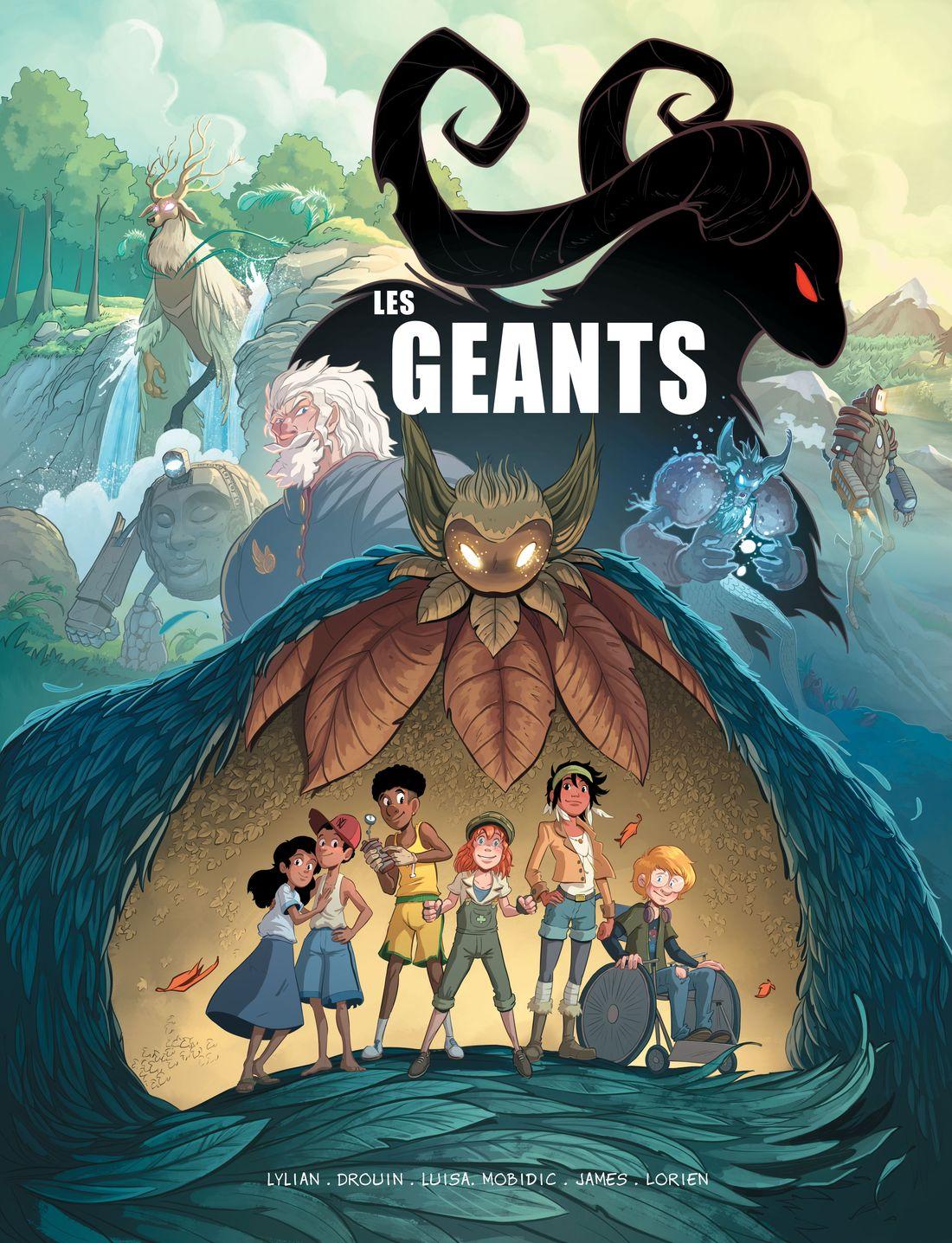 Les Géants, Teaser © Glénat