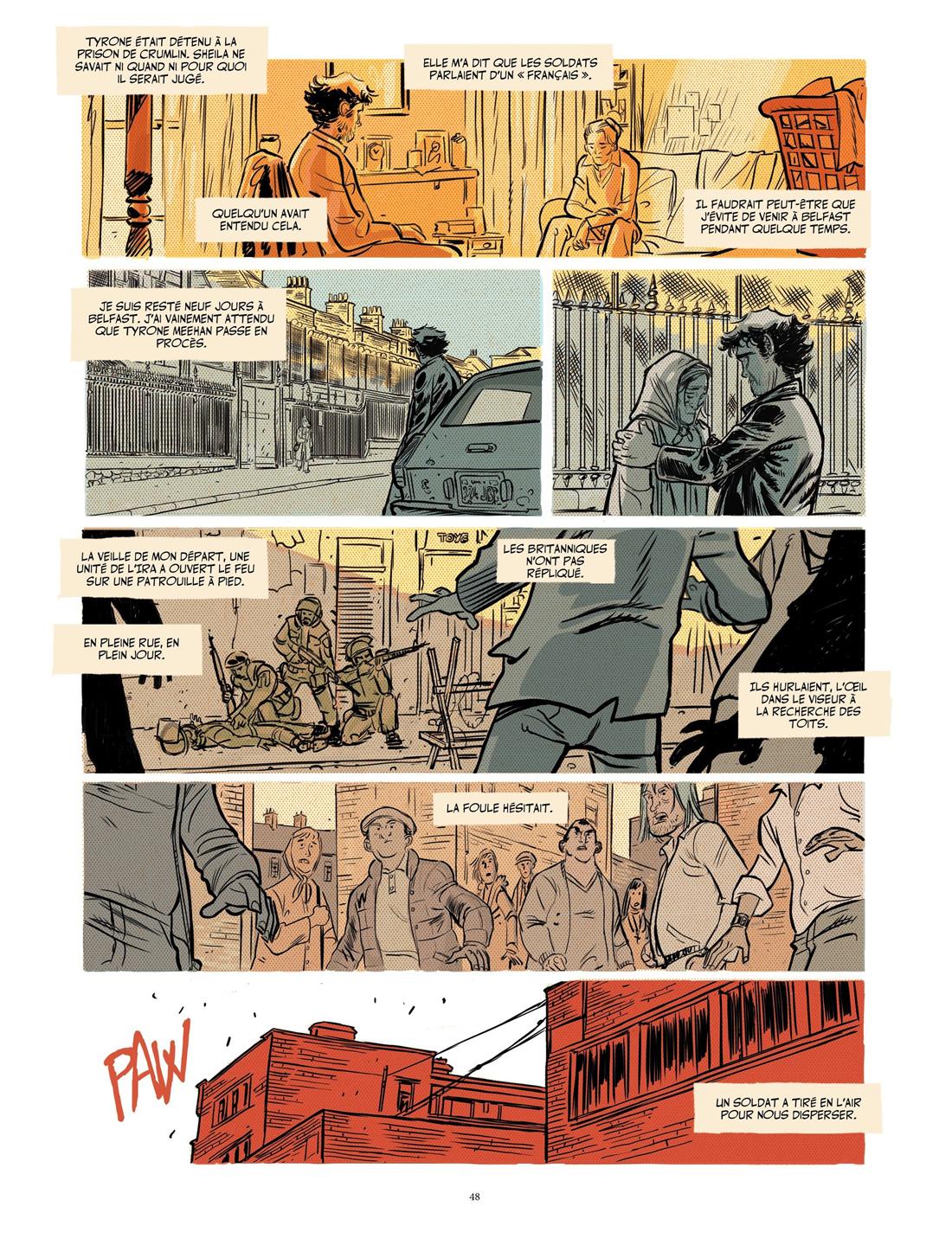 Mon Traître, version finale de la page 30 © Pierre Alary