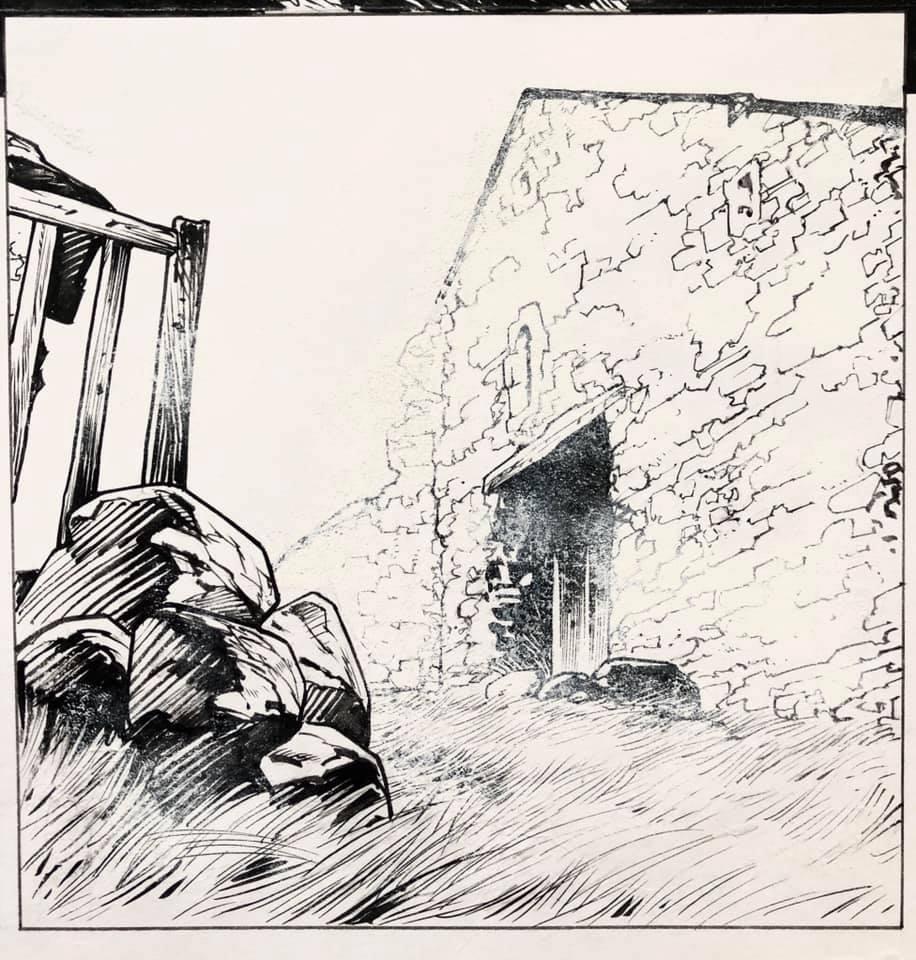 Les Tourbières Noires, planche 34 de l'album, extrait ©  Glénat / Christophe Bec