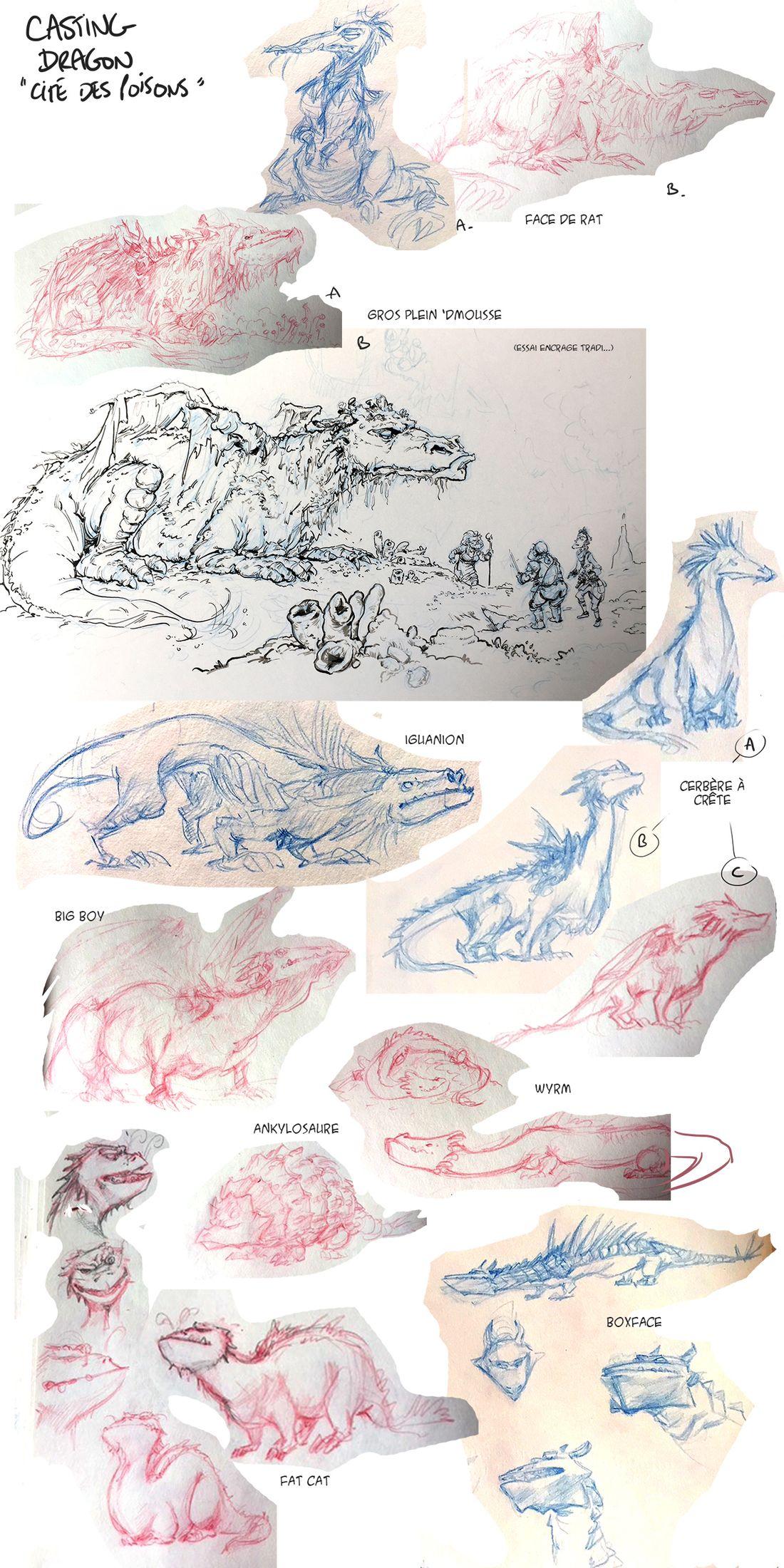 Dragon & Poisons, le casting du Dragon © Rebecca Morse