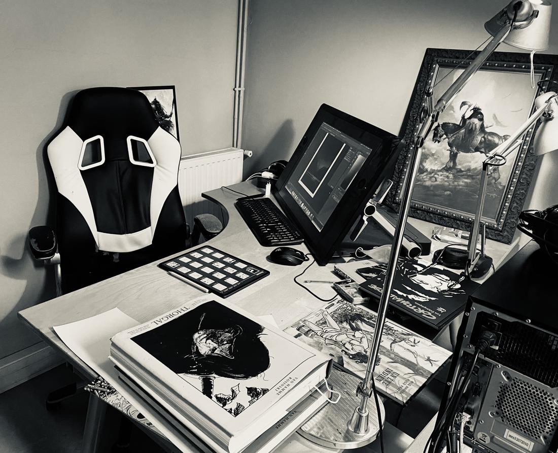 l'Atelier de Robin Recht © Recht