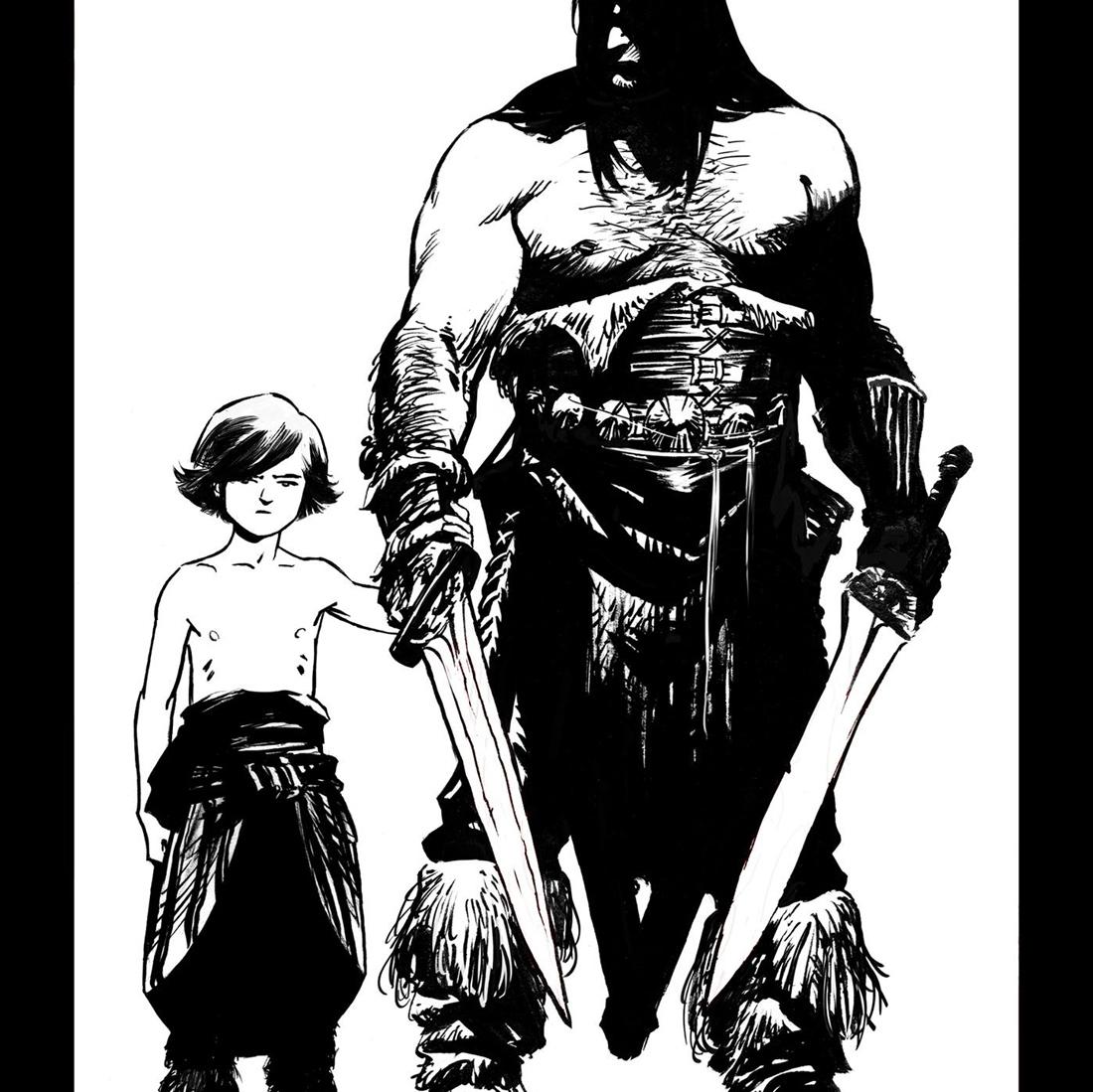 Conan le Barbare © Recht