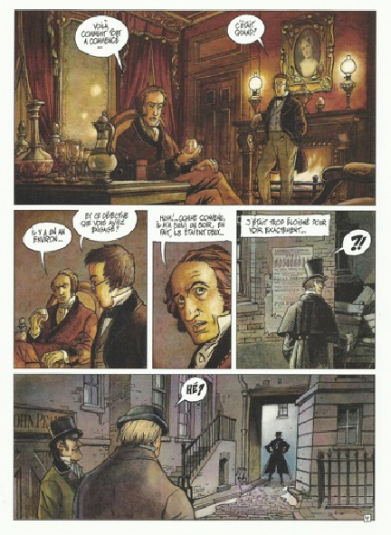 Dickens & Dickens, planche © Vents d'Ouest / Griffo / Rodolphe