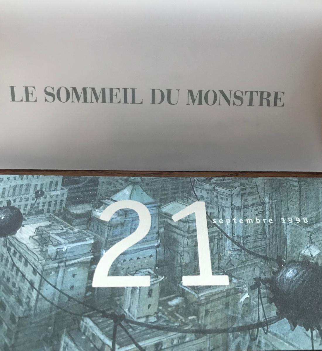 30 ans d'édition, par Sébastien Gnaedig, Chapitre 18 : Enli Bilal et le Sommeil du Monstre