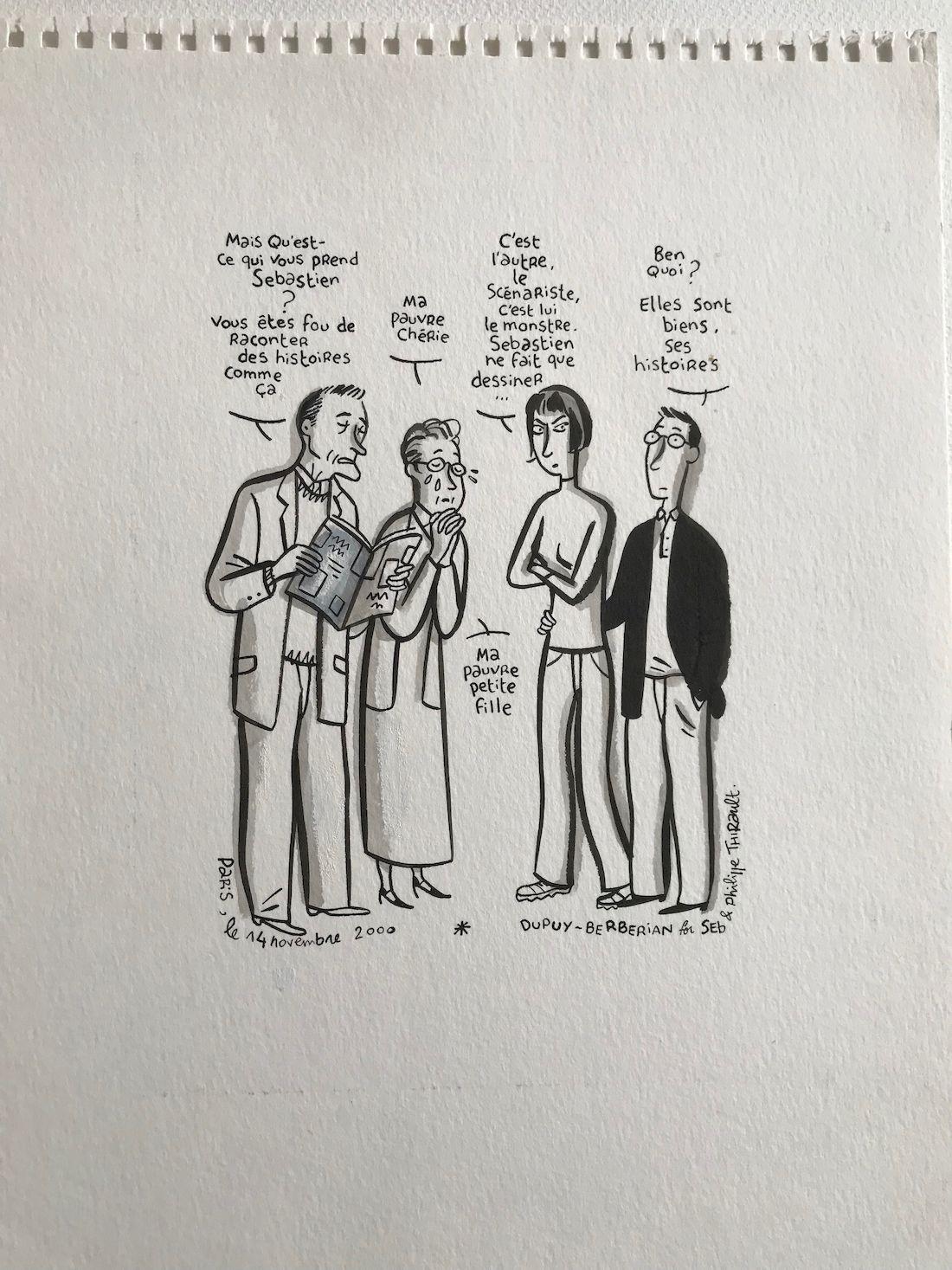 30 ans d'édition, par Sébastien Gnaedig, Chapitre 21 : mes voisins sont formidables © Brberian