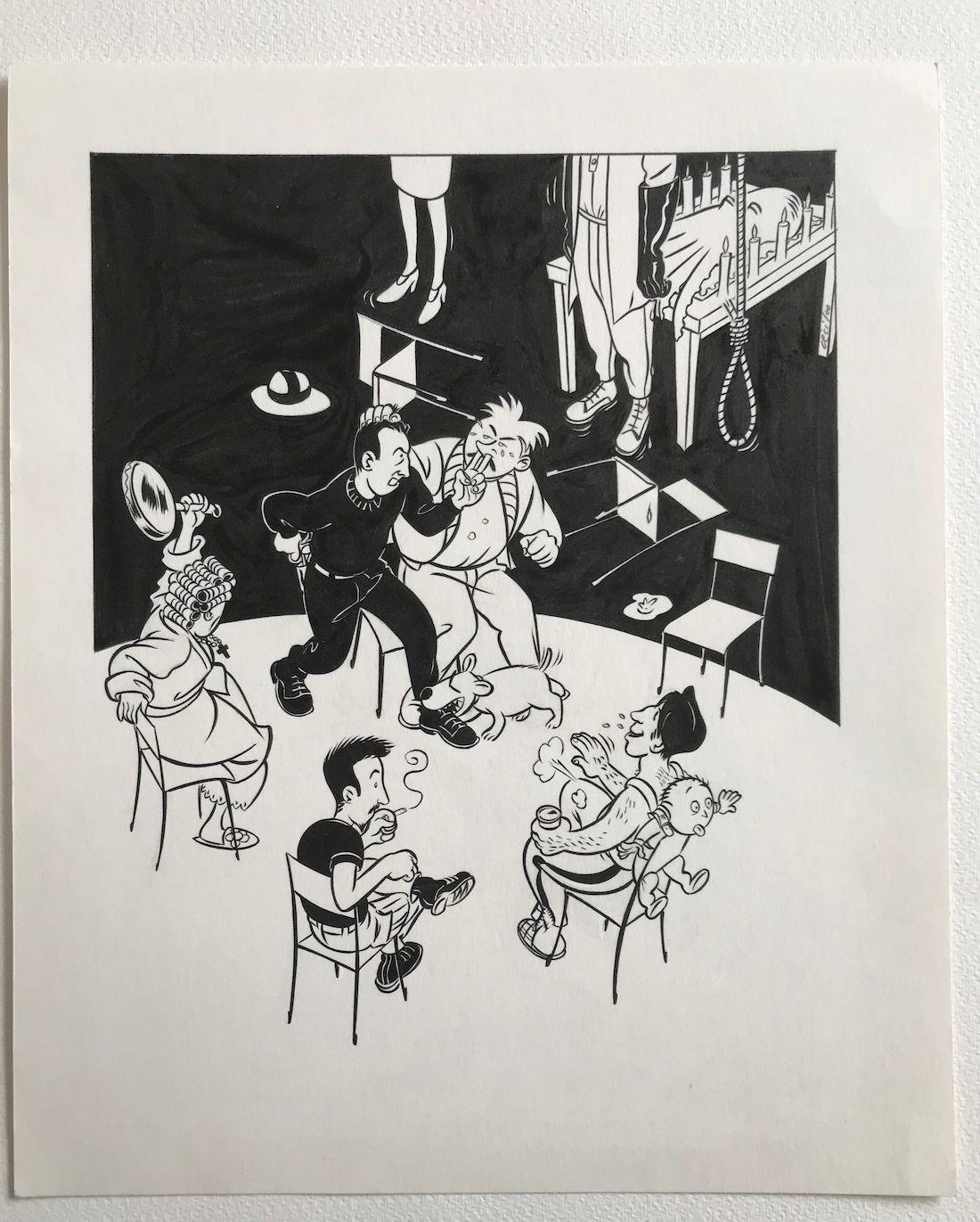 30 ans d'édition, par Sébastien Gnaedig, Chapitre 21 : mes voisins sont formidables © Cecil