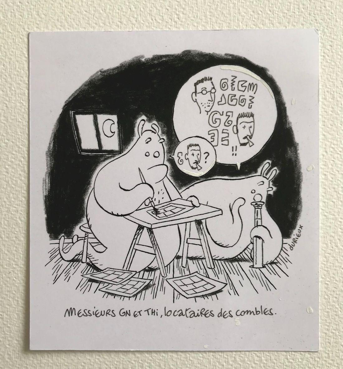 30 ans d'édition, par Sébastien Gnaedig, Chapitre 21 : mes voisins sont formidables © Durieux