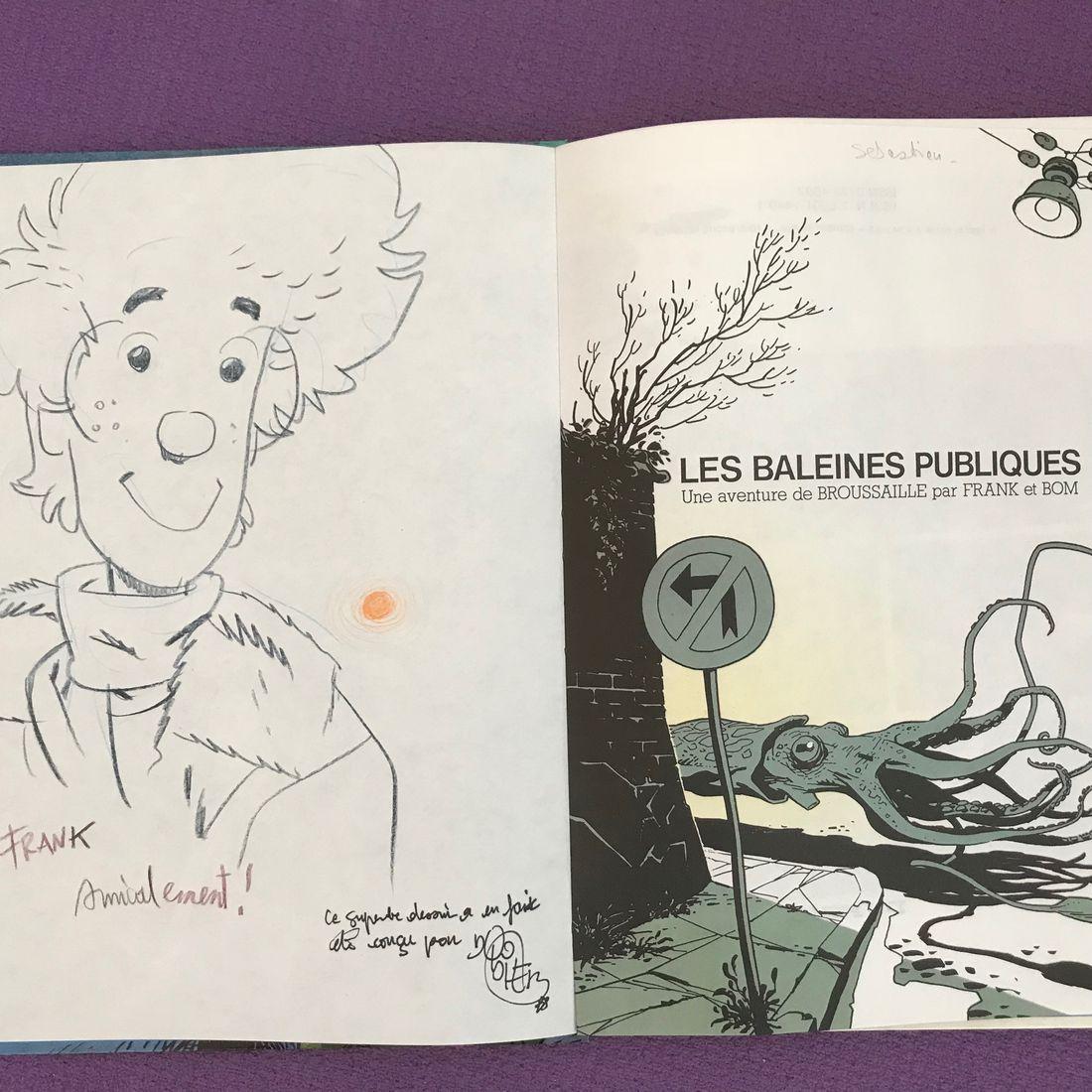 30 ans d'édition, par Sébastien Gnaedig, Chapitre 23 : Retour à Marcinelle. Baleines