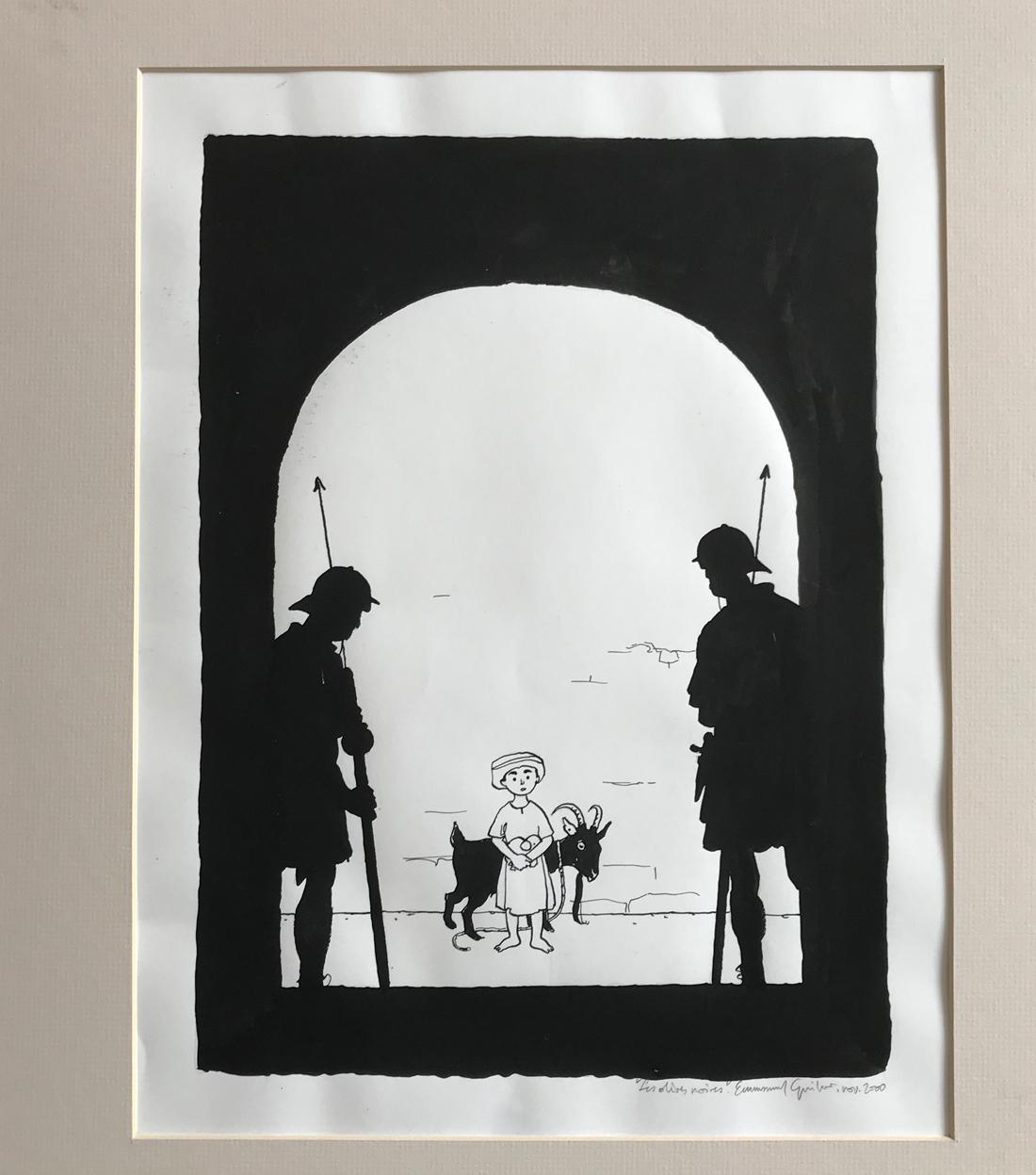 30 ans d'édition, par Sébastien Gnaedig, Chapitre 27: Le Photographe. Les Olives Noires de Guibert et Sfar