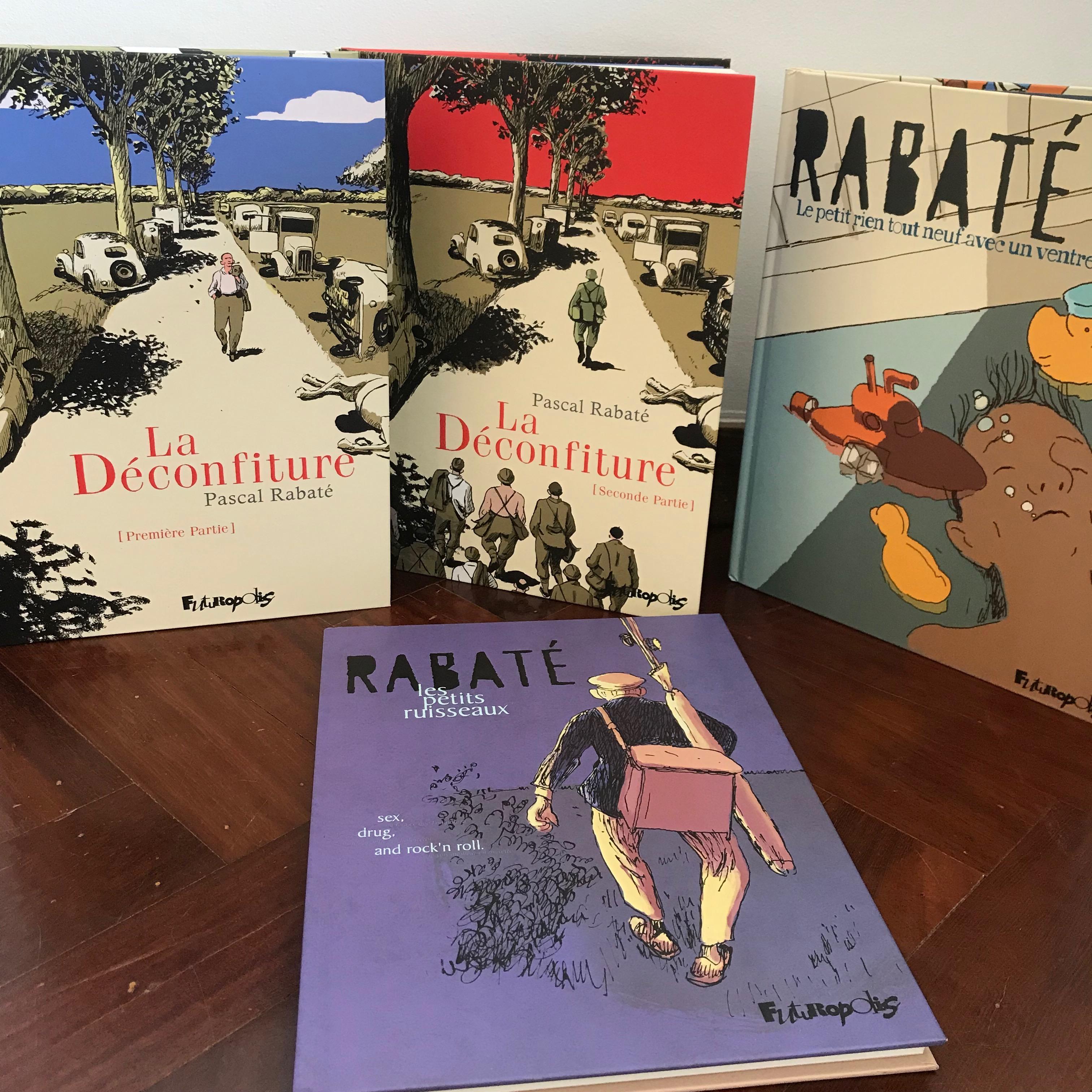 30 ans d'édition, par Sébastien Gnaedig, Chapitre 37: Pascal Rabaté.