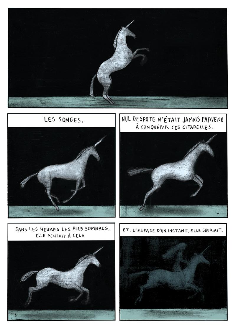 30 ans d'édition, par Sébastien Gnaedig, Chapitre 42: les collectifs, troisième partie: la Dame à la Licorne