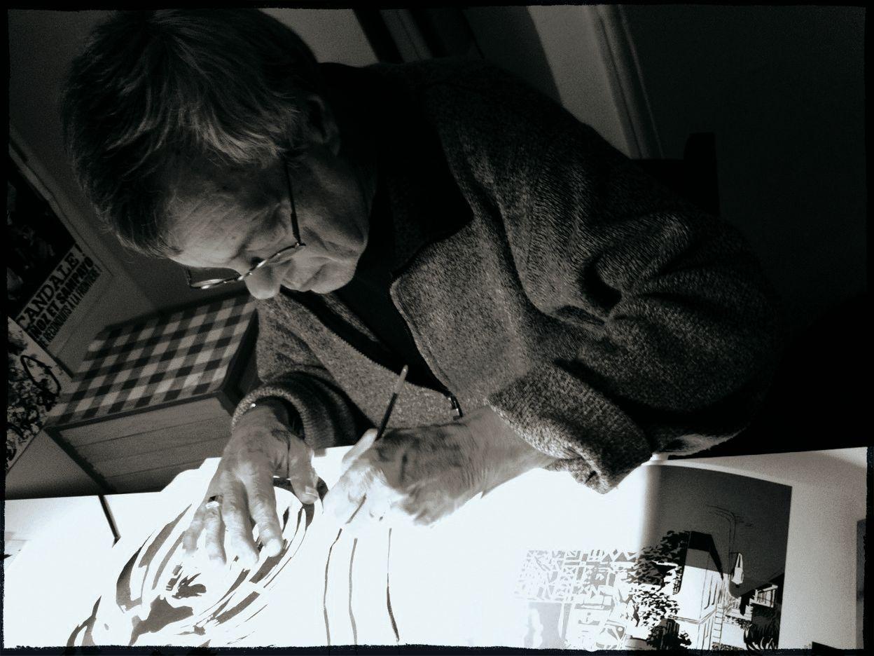 30 ans d'édition, par Sébastien Gnaedig, Chapitre 43 : José Munoz. Photo © Munoz
