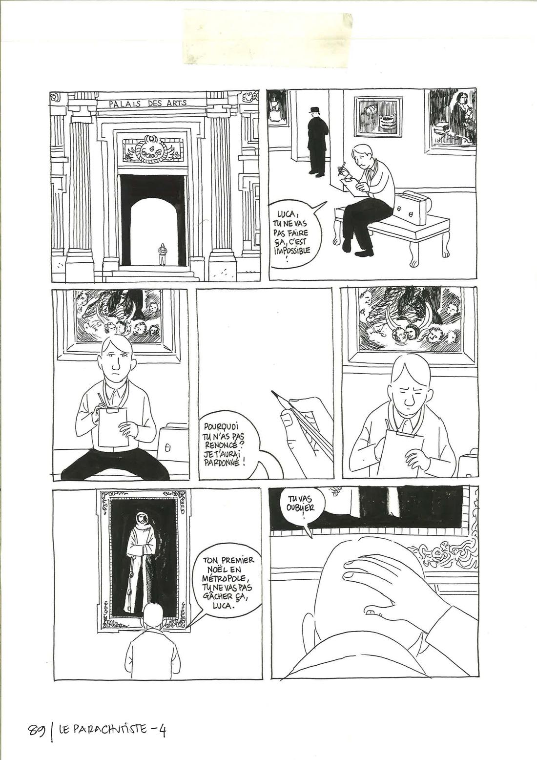 30 ans d'édition, par Sébastien Gnaedig, Chapitre 48: Profession du père. Planche 89