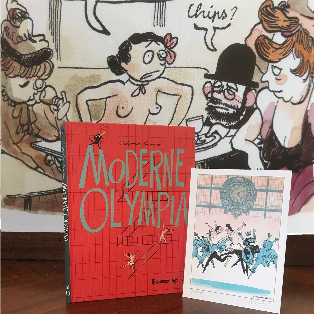 30 ans d'édition, par Sébastien Gnaedig, Chapitre 50: la BD au féminin. Meurisse