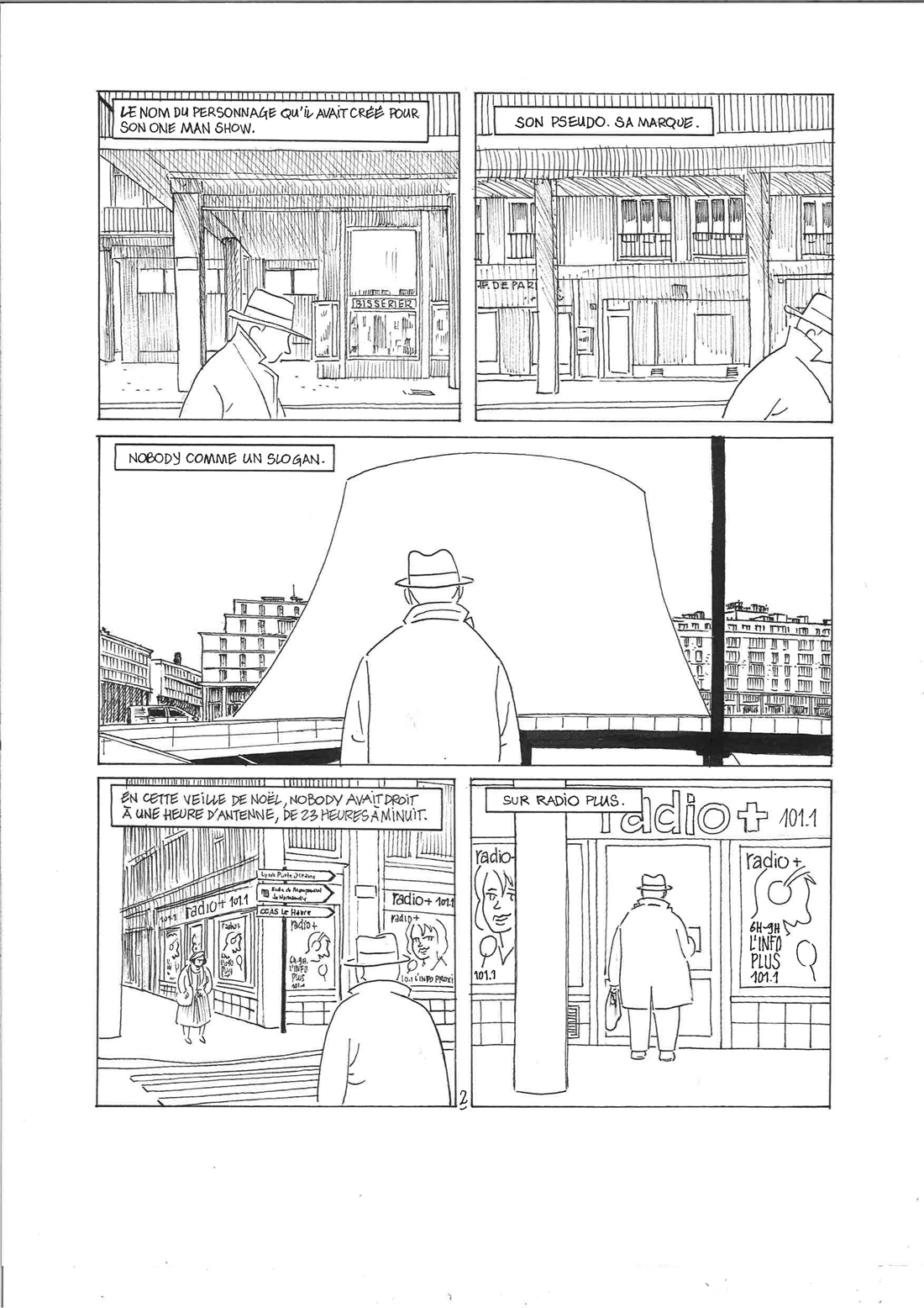 30 ans d'édition, par Sébastien Gnaedig, Epilogue: Mister Nobody. Planche 2 de Mister Nobody