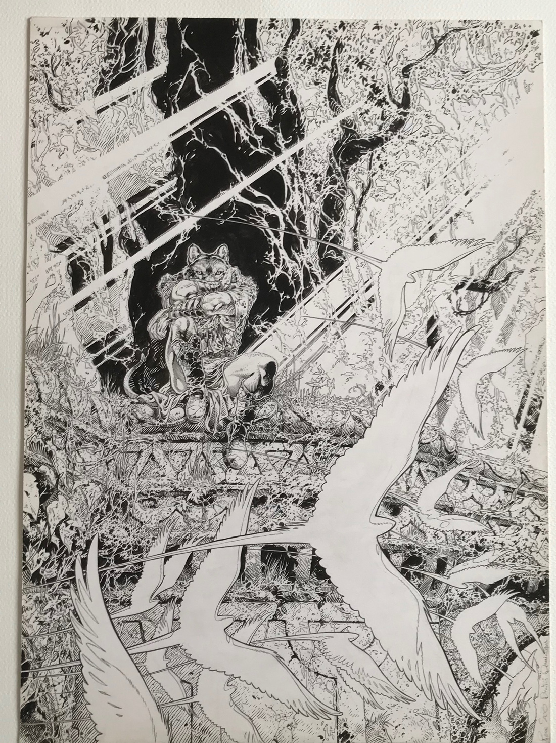 30 ans d'édition, par Sébastien Gnaedig, chapitre 12. Le Dernier Loup d'Oz © Lidwine / Delcourt