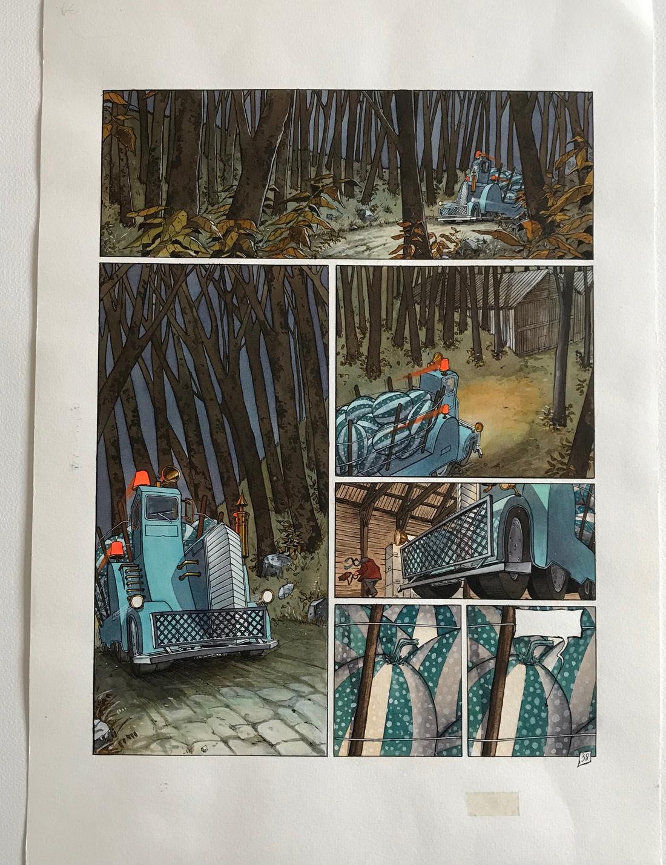30 ans d'édition, par Sébastien Gnaedig, chapitre 12. La Nef des Fous © Turf / Delcourt