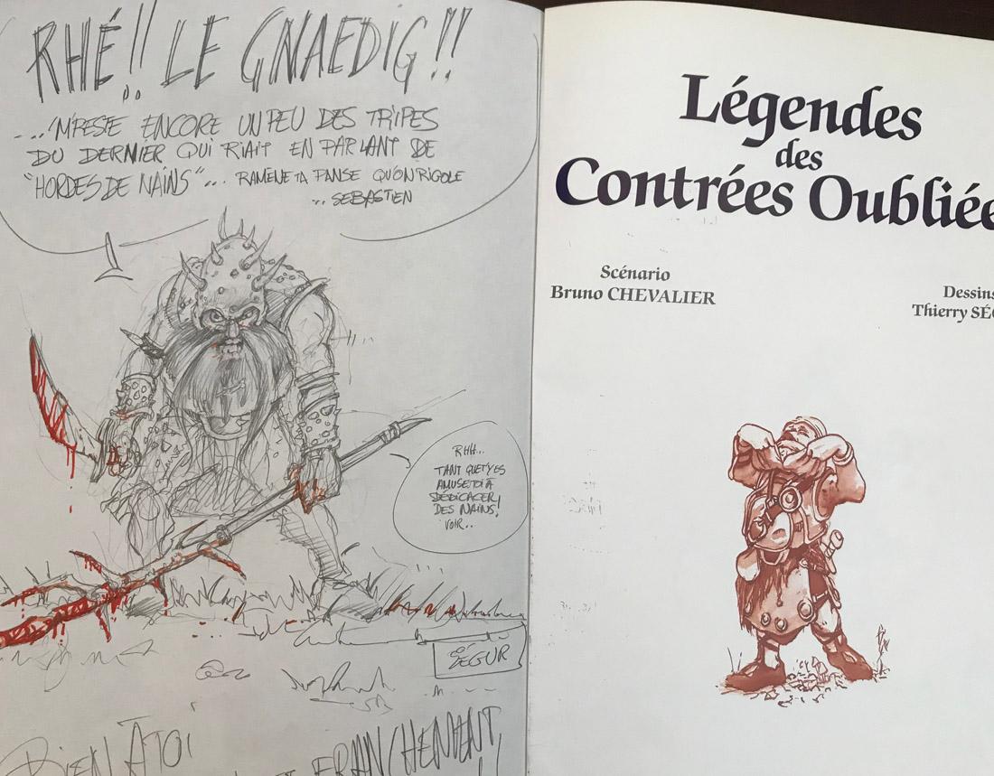 30 ans d'édition, par Sébastien Gnaedig. Episode 6 : Guy Delcourt, Légendes des Contrées Oubliées