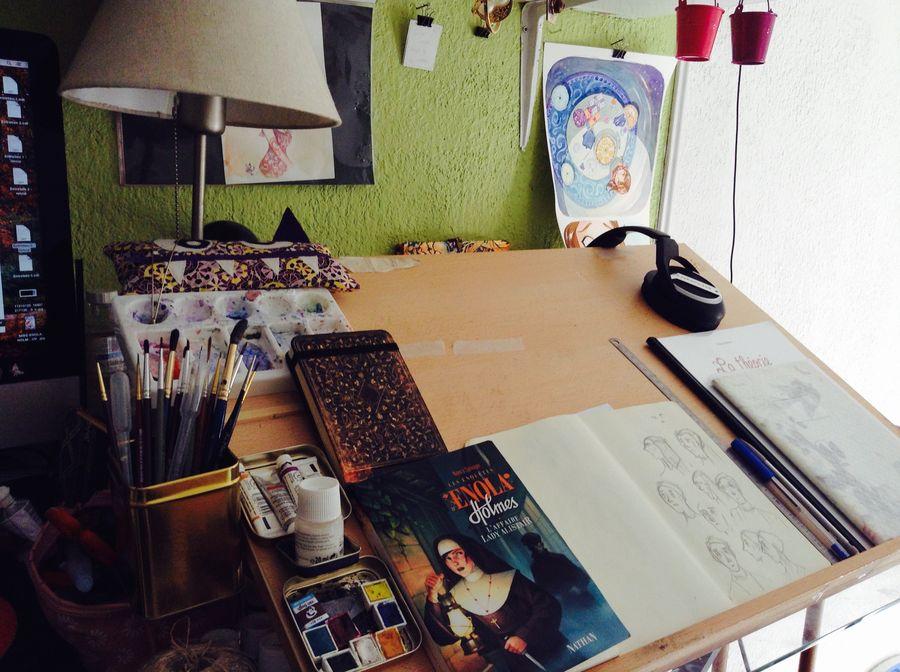 Atelier d'artiste (Serena Blasco)