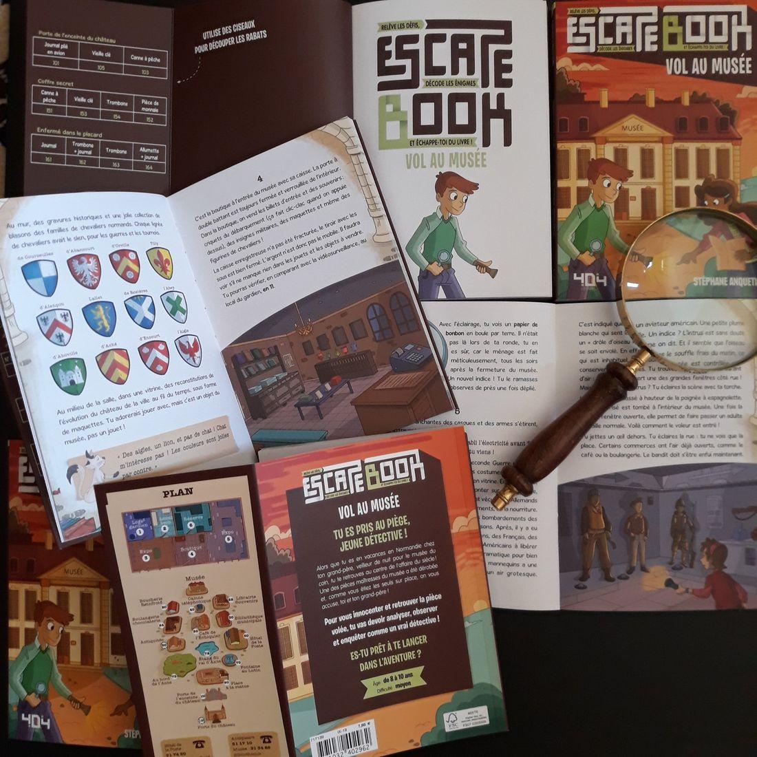 Crime Zoom,  escape book © 404 Editions