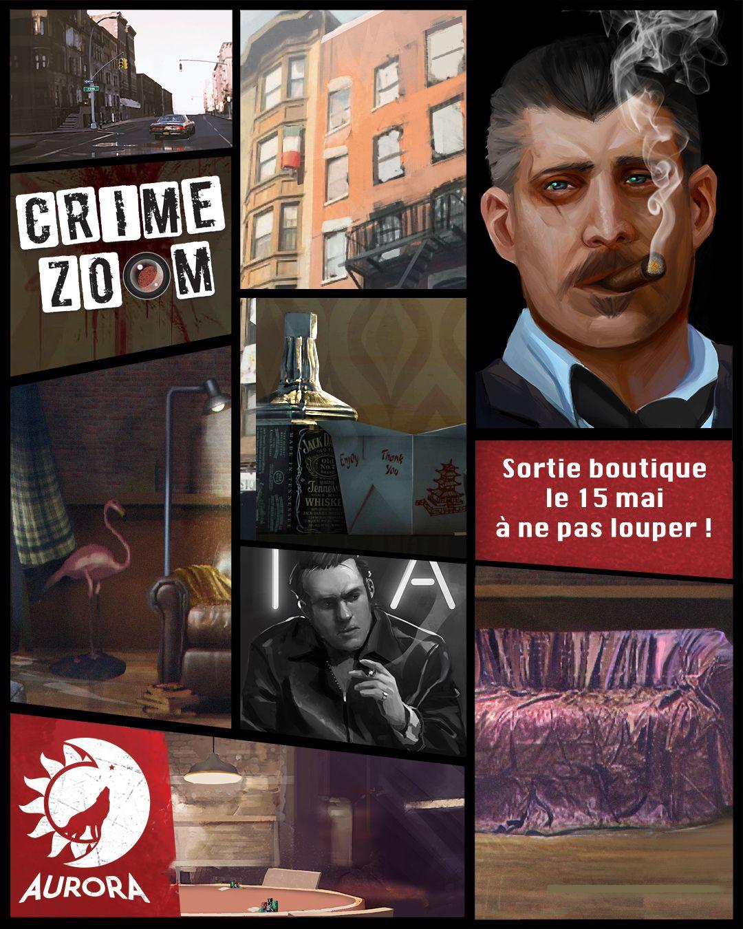 Crime Zoom, visuel © Aurora