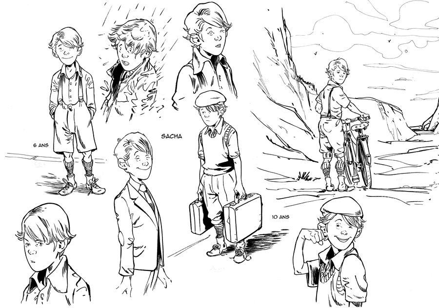 L&#39île des justes, recherche de personnage © Espé