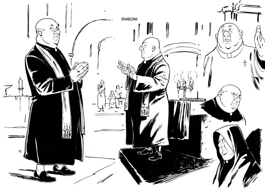 L&#39île des justes, Simeoni recherche de personnage © Espé