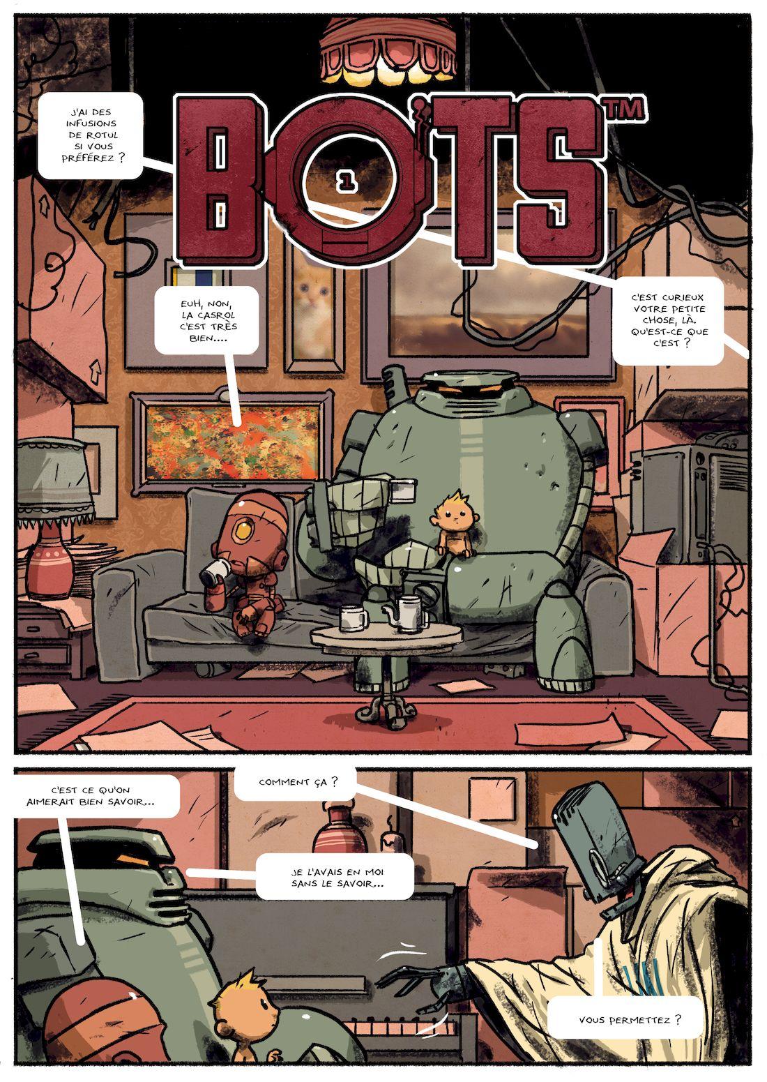 Bots, planche 34, version finale © Steve Baker / Aurélien Ducoudray