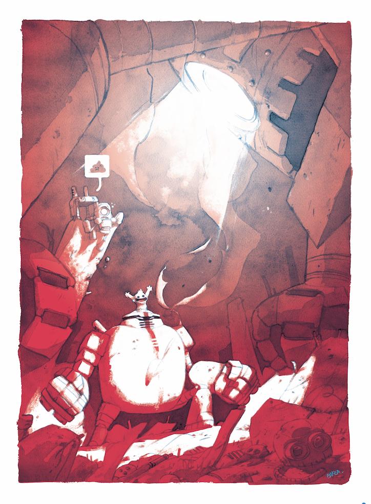Bots, illustration © Steve Baker