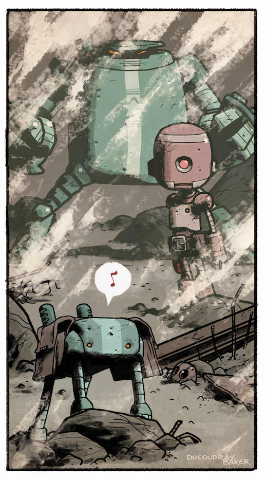 Bots, personnages © Steve Baker