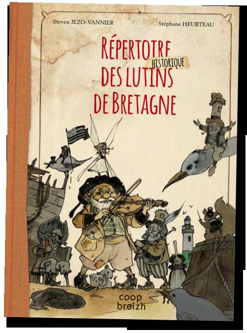 Répertoire des lutins de Bretagne © Heurteau
