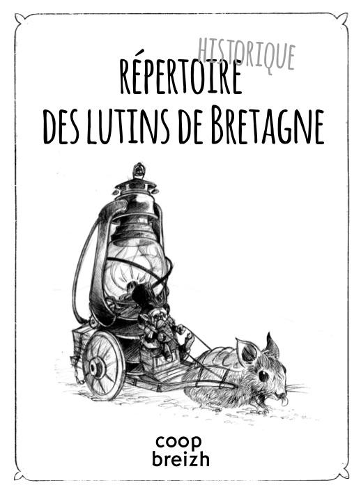 Répertoire des lutins de Bretagne © Stephane Heurteau