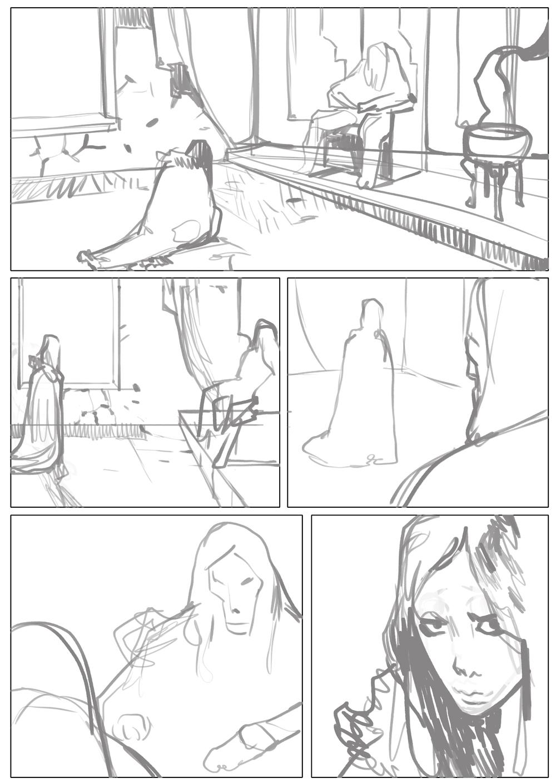 La Cité des Chiens, le scénario de la page 30 © Rebelka / Radomski